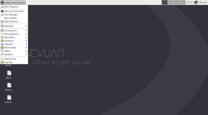 Devuan - um sistema Debian que não usa o sistema init systemd