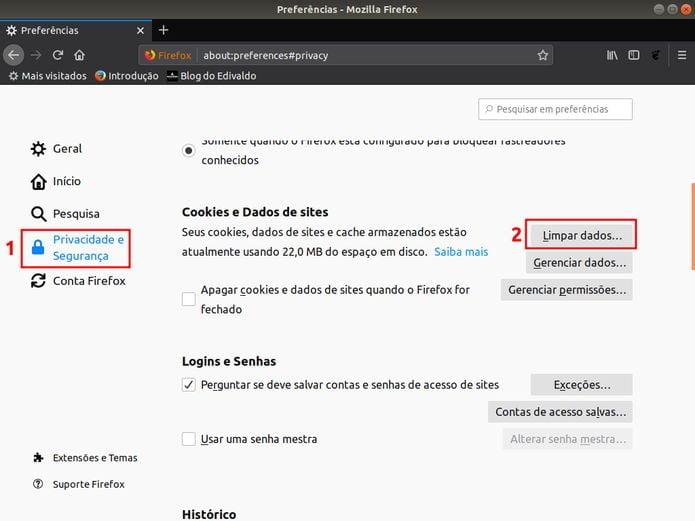 Como corrigir o erro de protocolo de rede no Mozilla Firefox