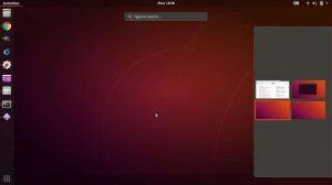 Como ter espaços de trabalho em grade no Ubuntu 18.04