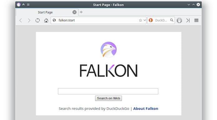 Falkon 3.1.0 lançado com suporte para escrever complementos com QML