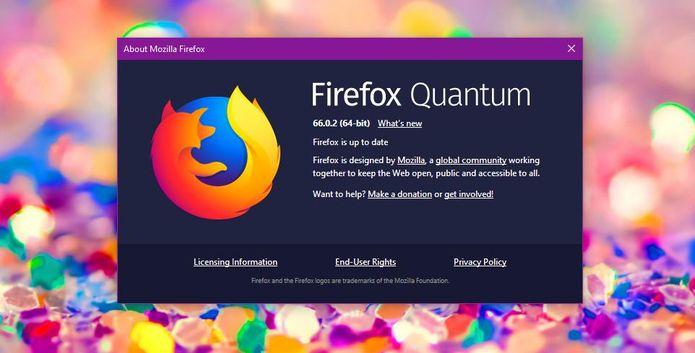 Firefox 66.0.2 já está disponível para download! Confira!