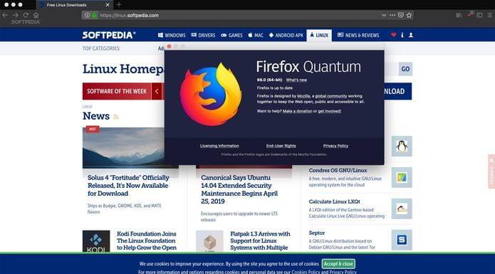 Firefox 66 lançado com compatibilidade para o GNOME Desktop