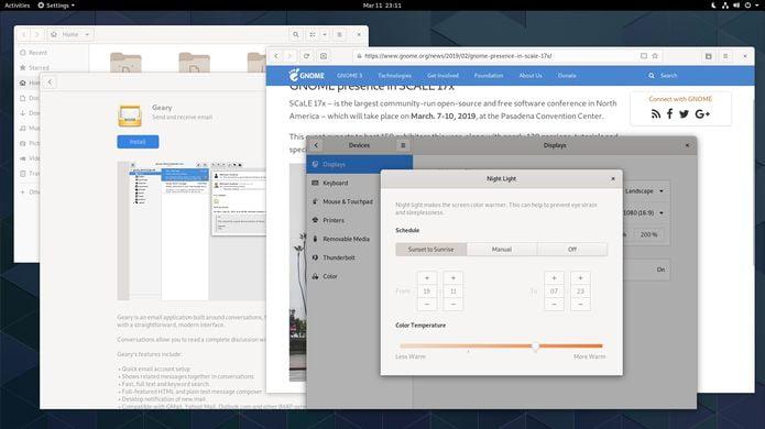 gnome 3 32 taipei lancado night - Dash no XFCE: Instale o Xfdashboard  no Ubuntu