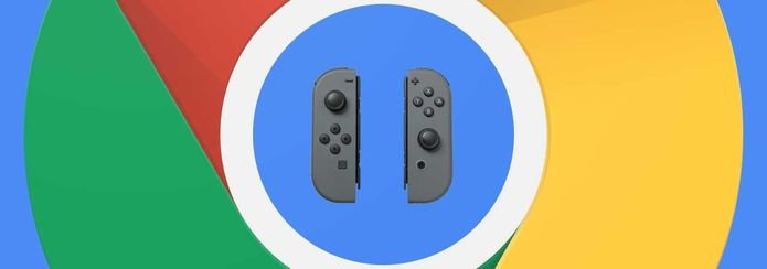 Google Chrome receberá suporte para os gamepads do Nintendo Switch