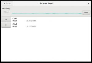 Como instalar o gravador de som Sound Recorder no Linux via Flatpak