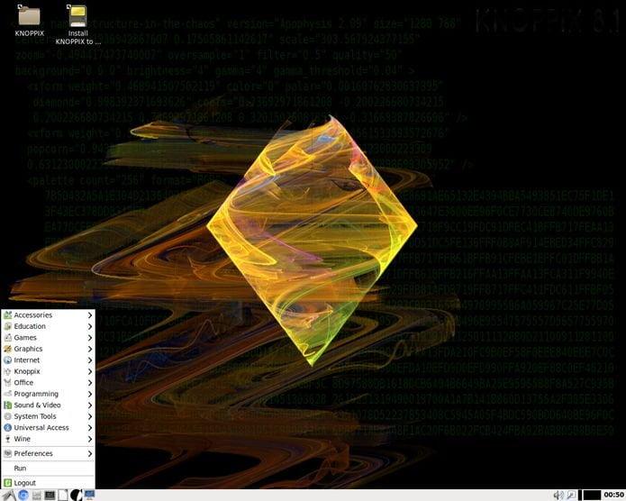 Knoppix 8.5 lançado com kernel 4.20 e Adriane Audio Desktop