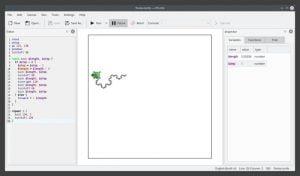 Como instalar o ambiente de programação KTurtle no Linux via Snap