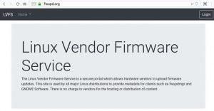 LVFS se tornou um projeto da The Linux Foundation