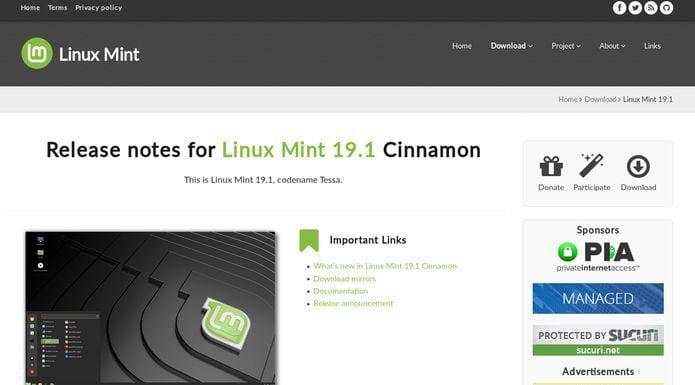 Revelado o novo logotipo do Linux Mint com atualizações adicionais