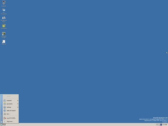 ReactOS 0.4.11 lançado – Confira as novidades e baixe