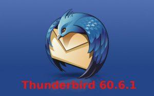 Thunderbird 60.6.1 lançado com correções de segurança críticas