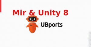 UBports continua trabalhando no suporte ao Unity 8 e ao Mir