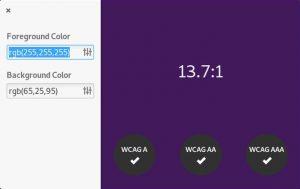 Como instalar o app de verificação de cores Harvey no Linux via Flatpak