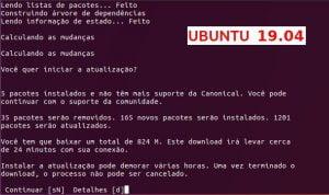 Como atualizar para o Ubuntu 19.04 via terminal (server e desktop)
