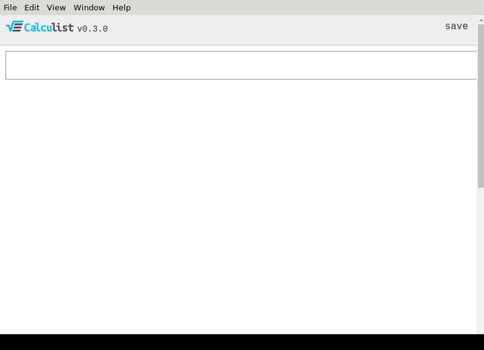 Como instalar o Calculist Desktop no Linux via appimage