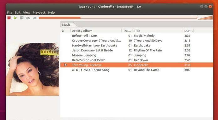 DeaDBeeF Music Player 1.8.0 lançado com o Suporte Opus