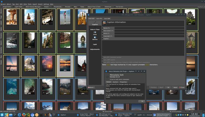DigiKam 6.1 lançado com nova interface para o desenvolvimento de plug-ins