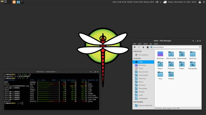 DragonFly BSD 5.4.2 lançado - Confira as novidades e baixe
