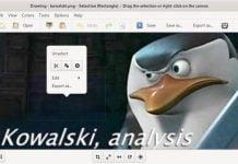 Como instalar o editor de imagens Drawing no Linux via Flatpak