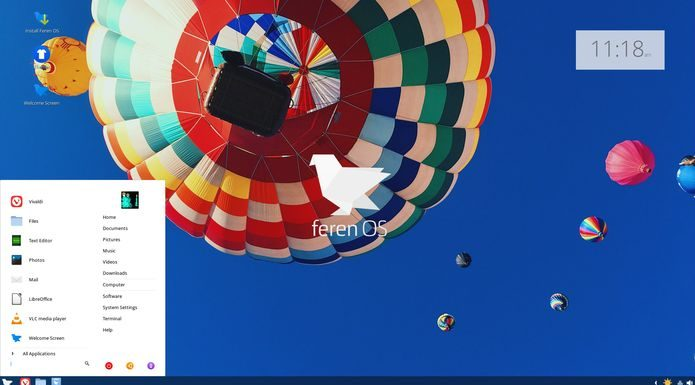 Feren OS 2019.04 lançado - Confira as novidades e baixe