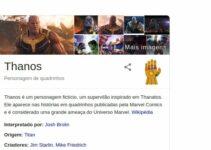 Google comemora estreia de Vigadores: Ultimato com Easter Egg do Thanos