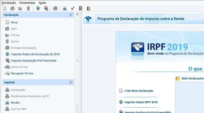 Como instalar o programa IRPF 2019 no Linux via arquivo JAR