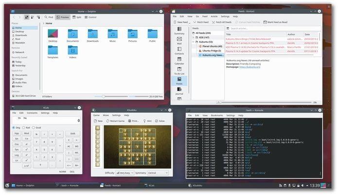Kubuntu 19.04 lançado - Confira as novidades e baixe