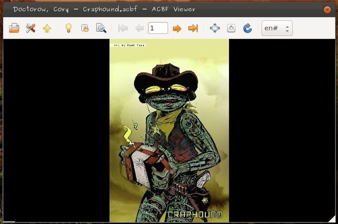 Como instalar o leitor de quadrinhos ACBF Viewer no Ubuntu e derivados