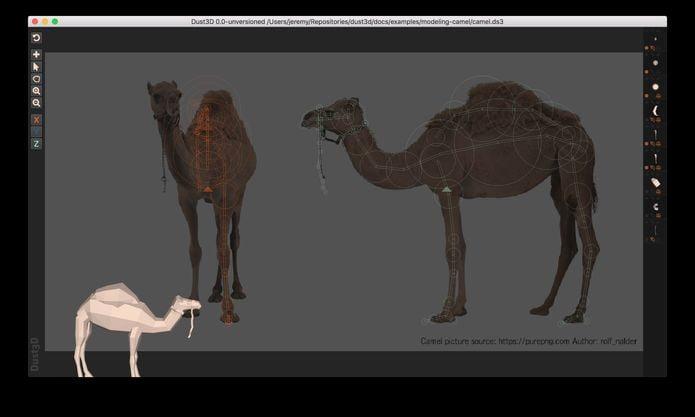 Como instalar o modelador 3D Dust3D no Linux via appimage