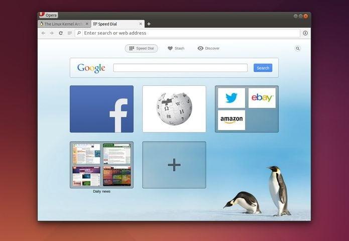 Como instalar o navegador Opera no Ubuntu, Debian, Linux Mint e derivados