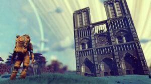 No Man's Sky recebeu um tributo a catedral de Notre Dame