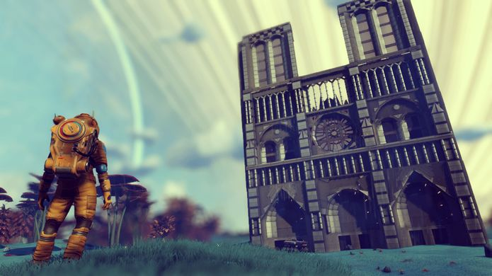 No Mans Sky recebeu um tributo a catedral de Notre Dame
