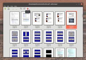Como instalar o incrível utilitário PDFArranger no Linux
