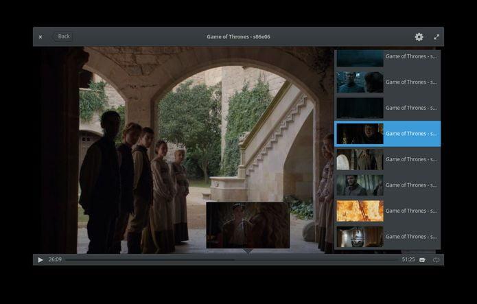Como instalar o reprodutor de vídeos Cinema no Linux via Flatpak