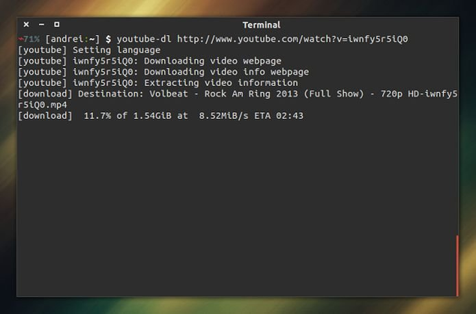 Como instalar o baixador de vídeos Youtube-dl no Linux via Snap
