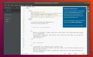 Brackets 1.14 lançado com suporte a PHP Tooling e LSP