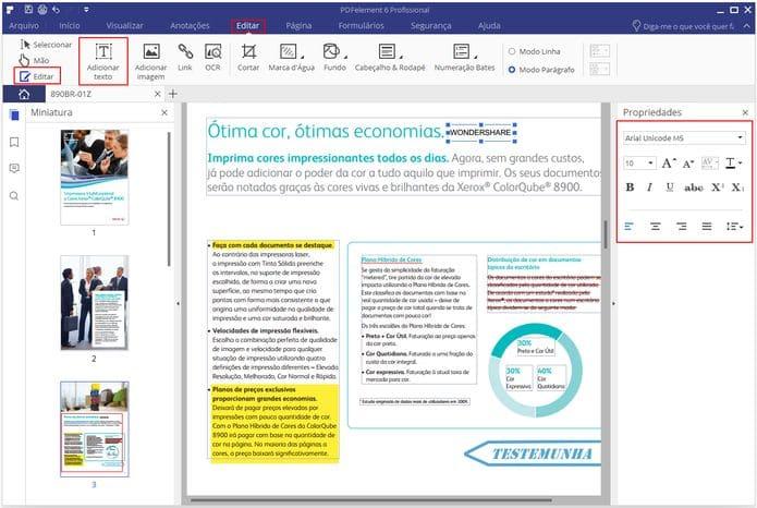 Conheça a ferramenta de edição de PDF PDFelement