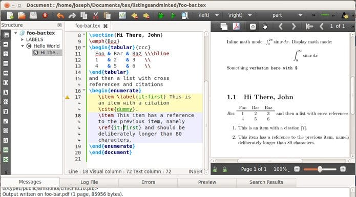 Como instalar o editor LaTeX TexStudio no Linux via AppImage