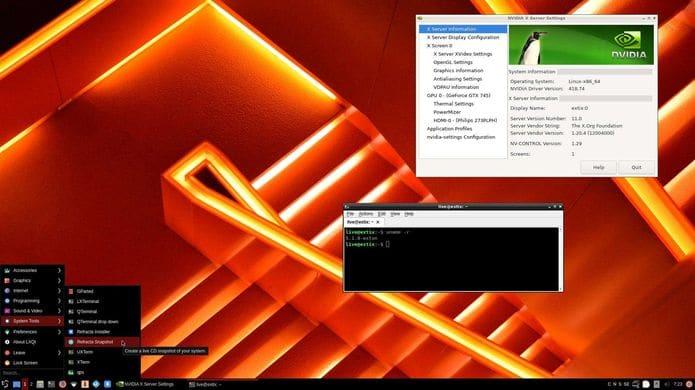 ExTiX 19.5 lançado oficialmente com o Kernel 5.1 e LXQt 0.14.1