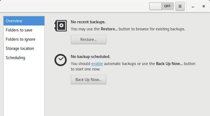 Como instalar a ferramenta de Backup Déjà Dup no Linux via Snap