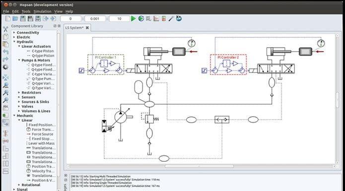 Como instalar a ferramenta de modelagem Hopsan no Linux via Flatpak