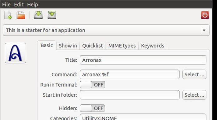 Como instalar o gerador de atalhos Arronax no Ubuntu e derivados