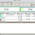 GParted 1 lançado 15 anos anos depois do inicio de seu desenvolvimento