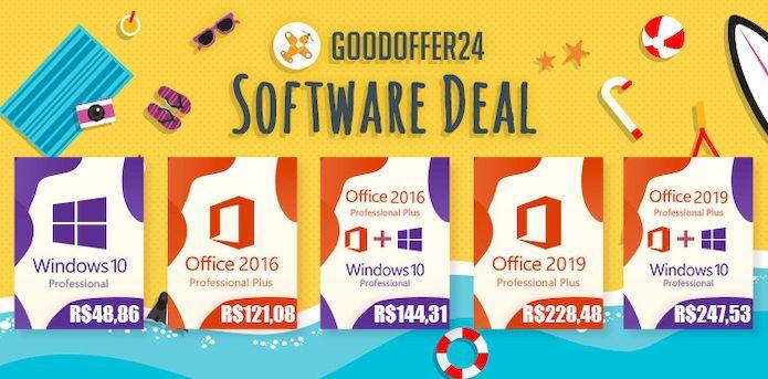 GoodOffer24: Windows 10 e Office 2019 a preços super baixos!