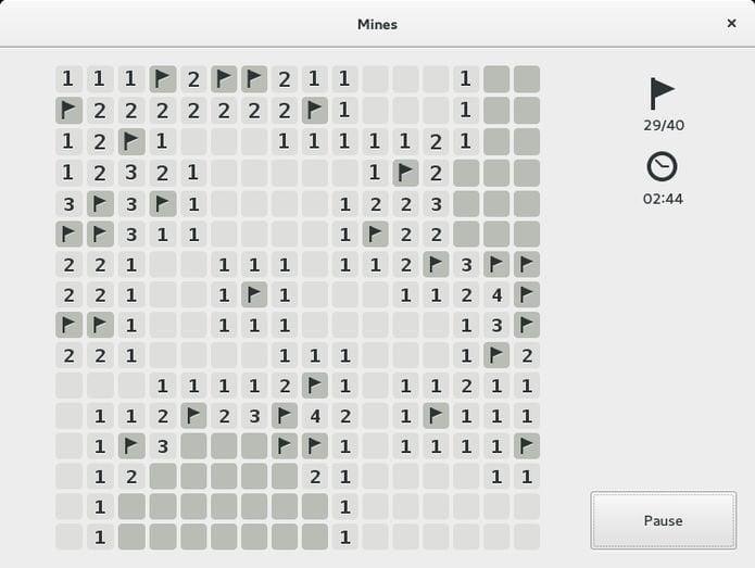 Como instalar o jogo GNOME Mines no Linux via Flatpak