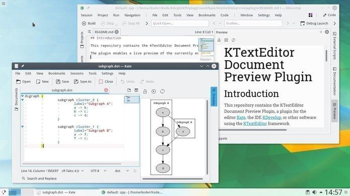 KDE Applications 19.04.1 - série 19.04 recebeu seu primeiro Point Release