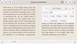 Como instalar o leitor de e-book Foliate no Linux via Flatpak