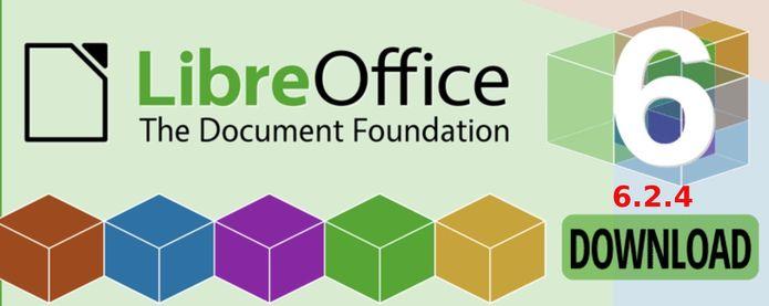 LibreOffice 6.2.4 lançado com mais de 100 correções de bugs