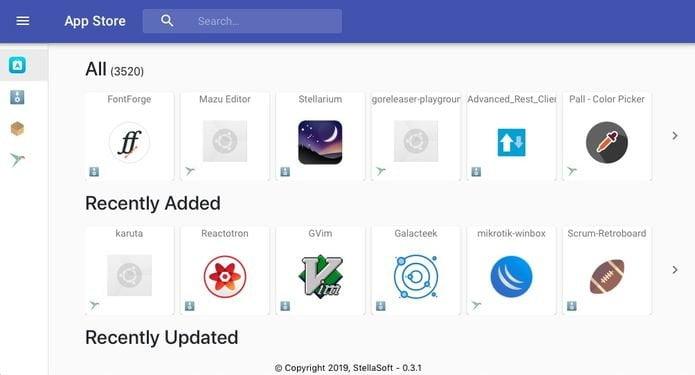 Linux App Store permite encontrar aplicativos onde quer que estejam