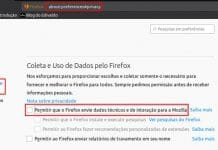 Mozilla excluirá todos os dados de uso coletados pelo Firefox